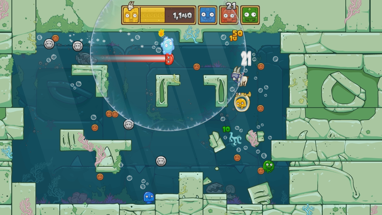 Toto Temple Deluxe: Odyssey of a Bubble
