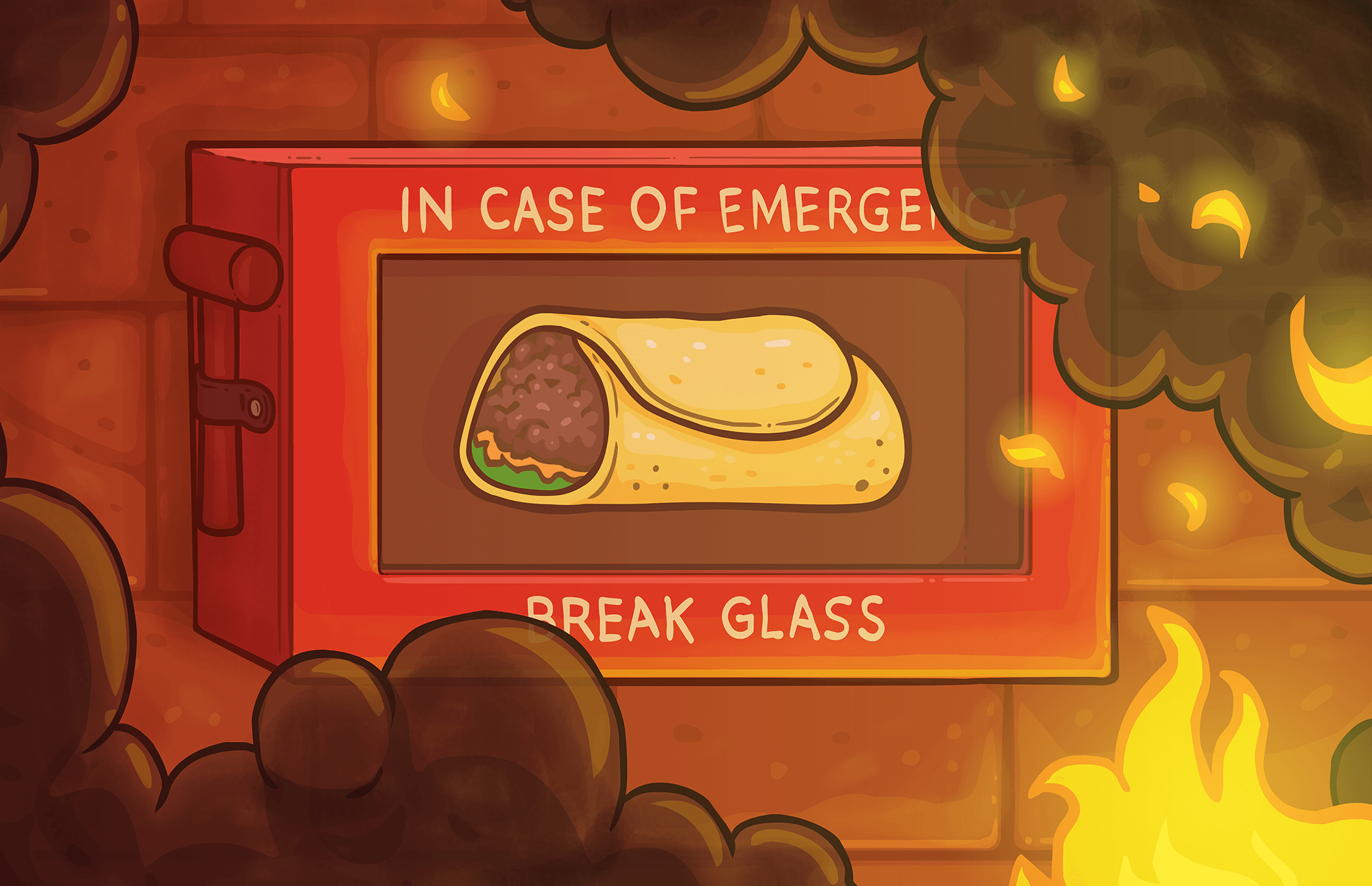 In Case of Emergency, Make Burrito Bison 3